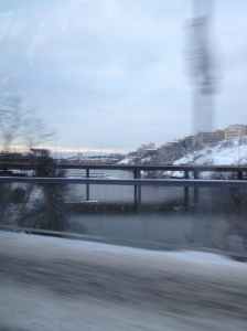 A cold Stockholm morning