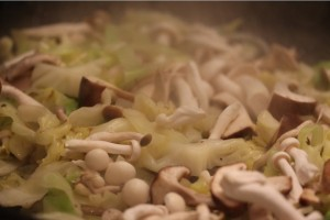 25Nov_Cabbage&Mushrooms