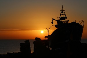 Sunrise-FishingBoat