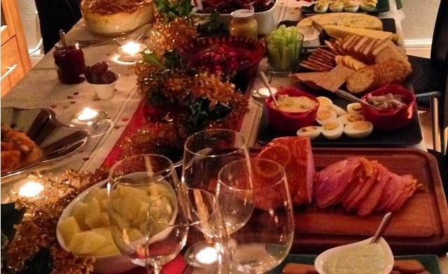 a swedish christmas with english friends food eat love - Swedish Christmas Food
