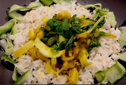 18Feb_JapaneseCurry&Rice