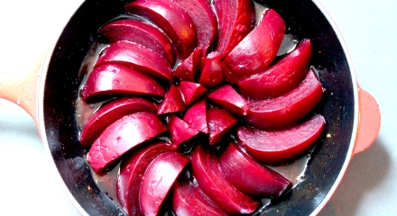 Layered beetroot