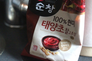 Korean hot chilli paste