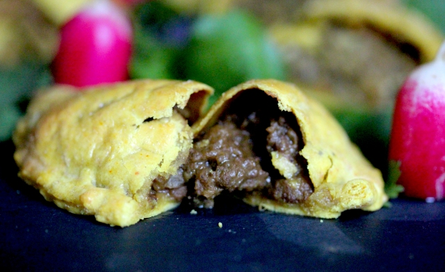 Caribbean beef patties