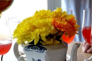 Flowers on each table