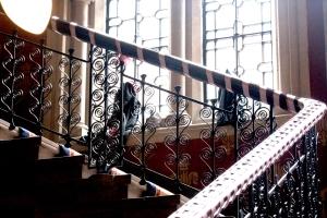 St Pancras Hotel stairway