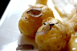 roasted truffle potatoes