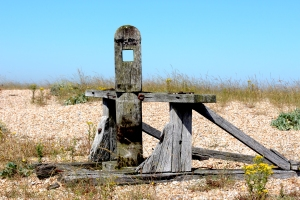 Winch on Dungeness beach