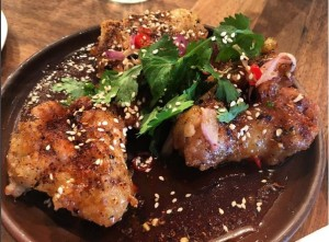 Fish Sauce Wings at the Smoking Goat
