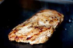 pan fried breast of chicken