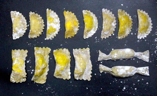 ravioli shapes