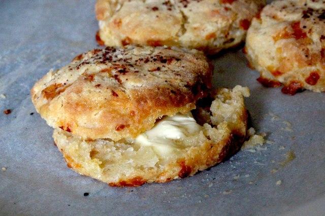 chilli cheese buttermilk biscuit