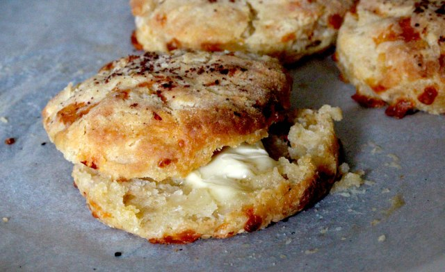 chilli cheese buttermilk biscuit