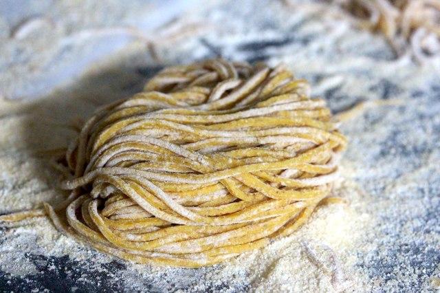 Sichuan peppercorn spaghetti