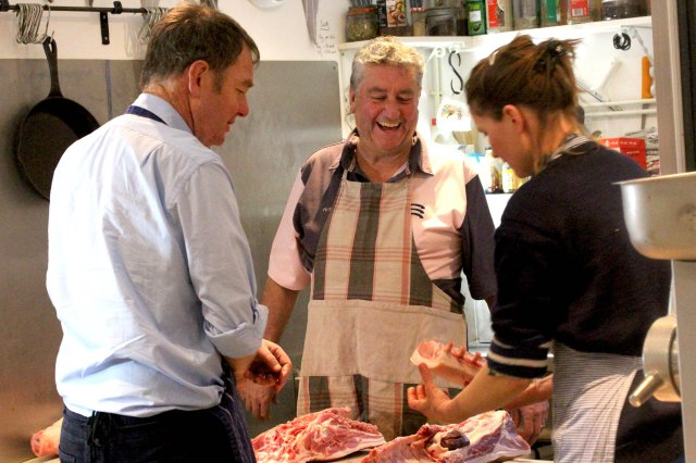 Butcher course at the Black Pig Butchers