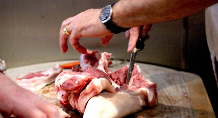 Butchery course at The Black Pig Butchers