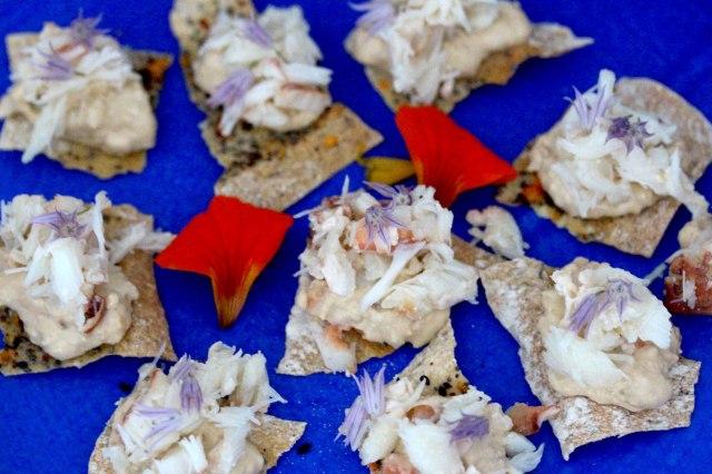 crab canapes
