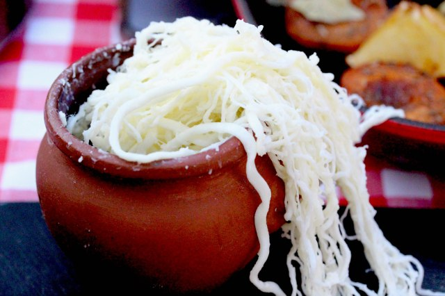 Georgian stringy cheese