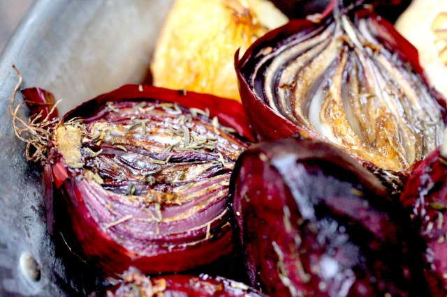 smoked red onion