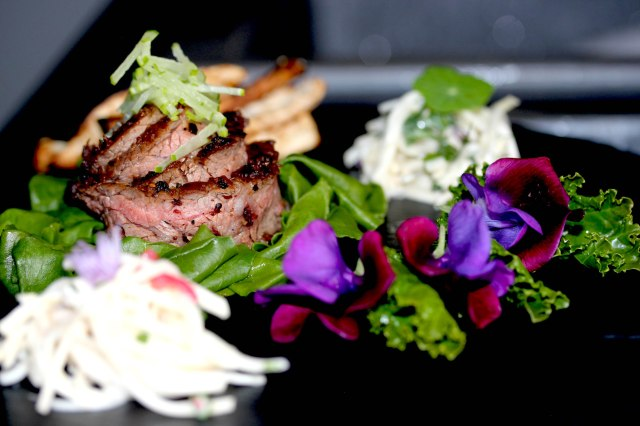 Steak with Celeriac slaw