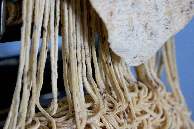 fresh cumin spaghetti
