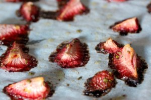 sun dried strawberries