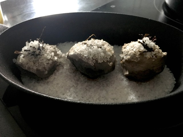 salt baked beetroot