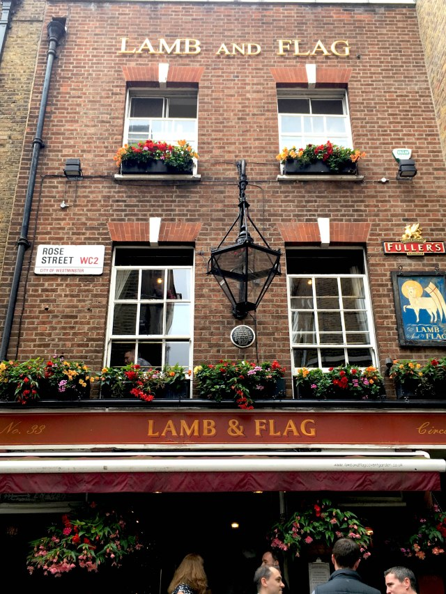 The Lamb and Flag Covent Garden