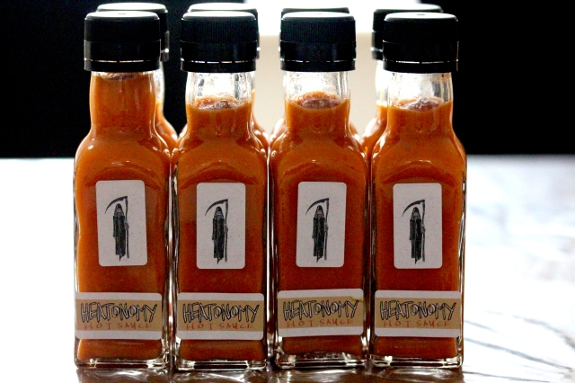 Heatonomy Reaper Hot Sauce
