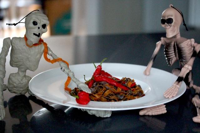 Halloween pasta party