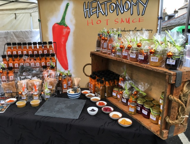 Heatonomy market stall