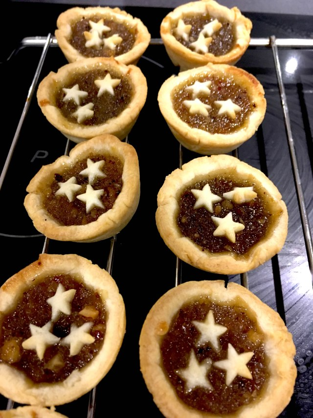 sweet chilli ginger mince pies
