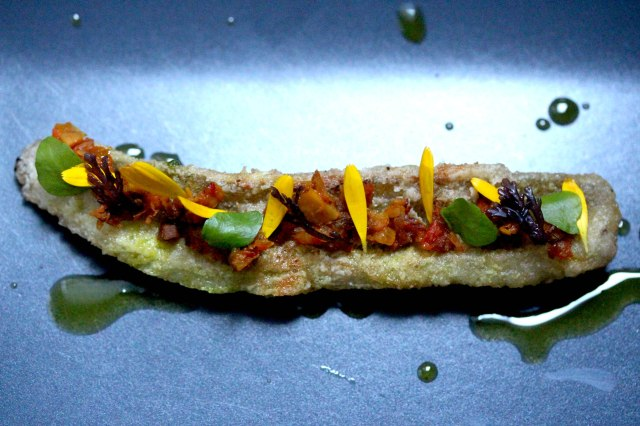 whiting and chutney