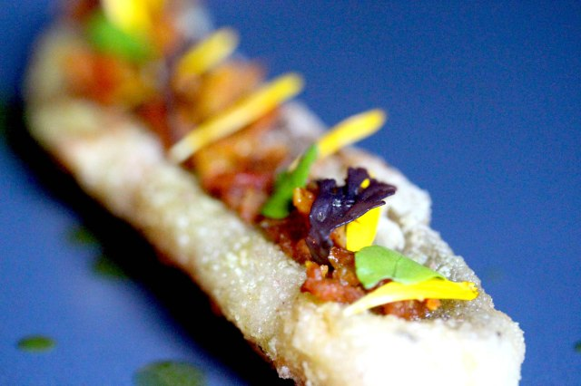 whiting with chutney