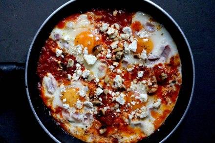 Eggs Pepperonata