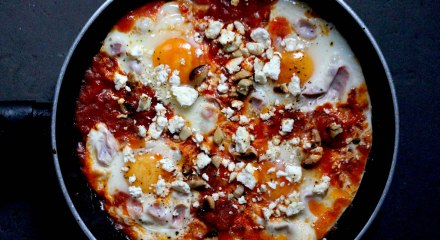Eggs Pepperonata