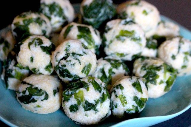 Wild garlic Malfatti