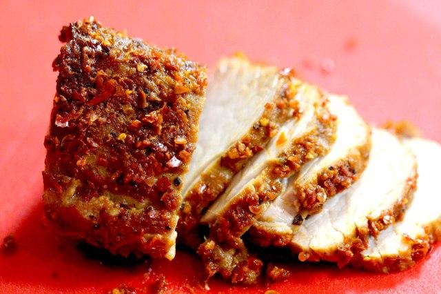 Aleppo pepper pork