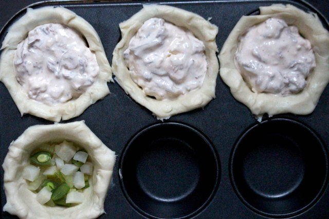 Pulled beef pies
