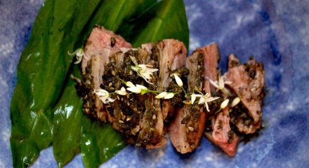 Wild Garlic Roasted Lamb