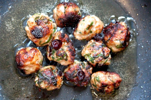 Wild Garlic Meatballs