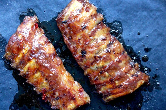 glazed ribs