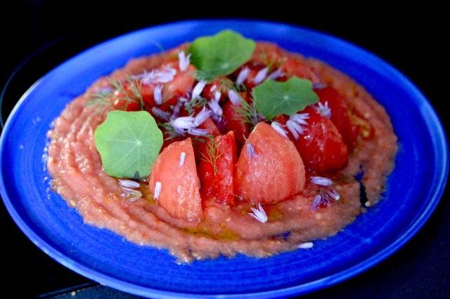 double tomato salad