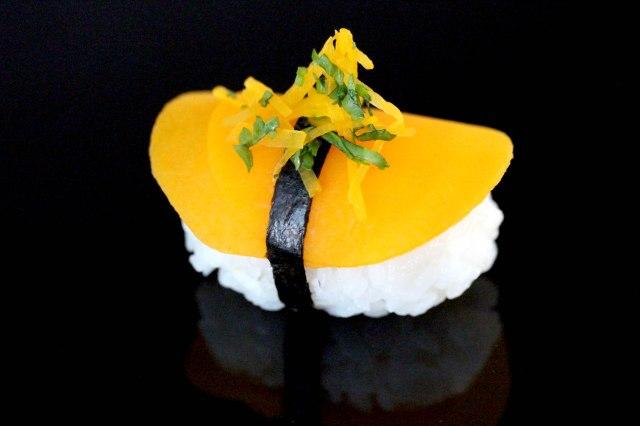Butternut squash Nigiri