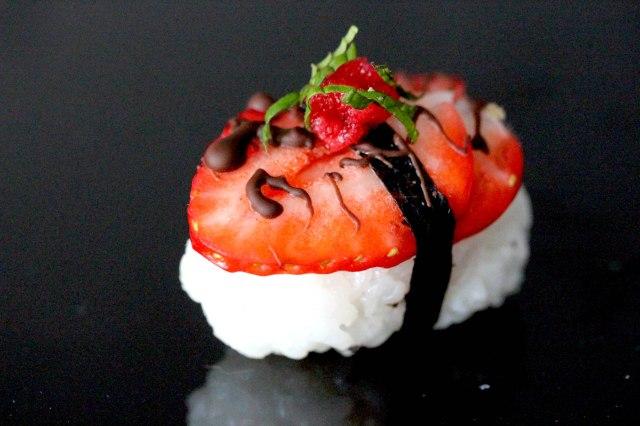 Strawberry Chocolate Nigiri