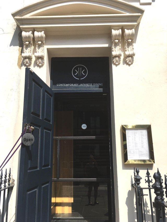 Kazu restaurant London