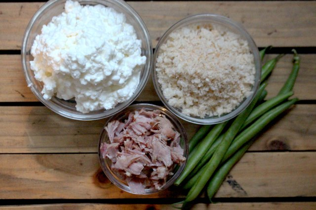 Cottage cheese and ham malfatti ingredients