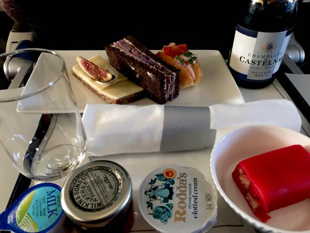 British Airways Afternoon Tea