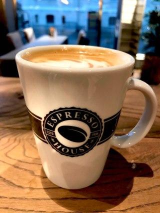 Coffee from Espresso House, Gothenburg