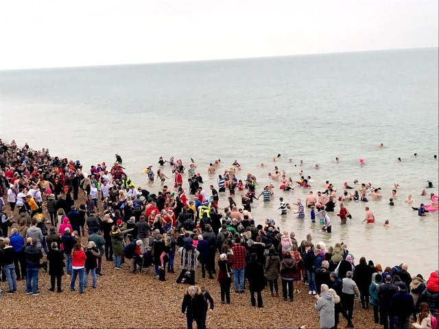 Deal Boxing day swim